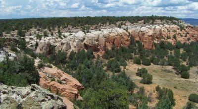 Incredible views from Mesa Top Property with trees  * near Ramah New Mexico