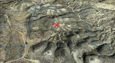 Big Bend area land with topo changes.