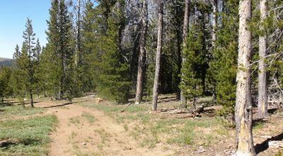 South Central Oregon Mountain Lakes Area Property - Great for Camping