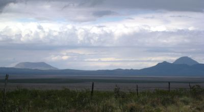 Undeveloped west Texas land near Dell City Cornudas and Guadalupe Mountains