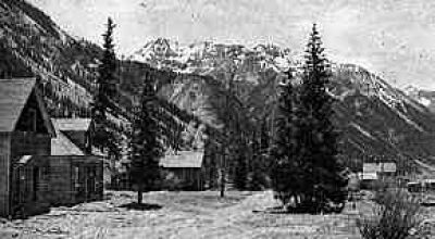 Historic Eureka Townsite  8 miles North of Silverton Colorado