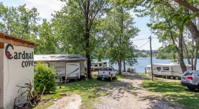 Cherokee Lakefront Campground with Marina