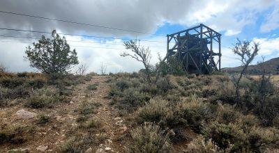 Historic Pioche Nevada patented mining claim.