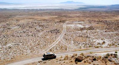 1/4 mile by 1/4 mile parcel *Borders BLM and State of Utah lands