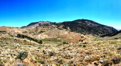 Surrounded by Humboldt National Forest near Historic Ruby Hill Mines * Nevada