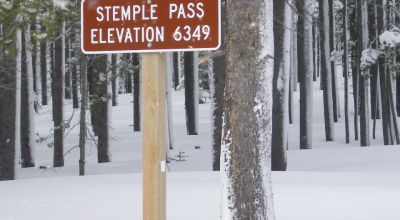 Stemple Pass 9 Patented mining Claims bordering  National Forest Service lands
