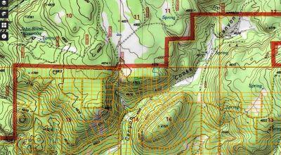 Borders Government lands.  Huge views  * Remote * Klamath Forest Estates