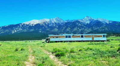 Single  Wide Mobile Fixer Upper with Expansive Mountain Views on 5 acres