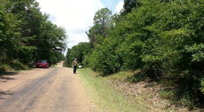 East Texas Near Cedar Creek lake * Residential Lot .  trees