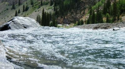 on the Animas River near the Historic townsite of Eureka * power on property