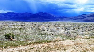 10 acres of Wide Open spaces with expansive views * Camp RV build