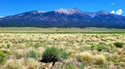 Sangre De Cristo mountain Views * 5 acres in San Luis Valley