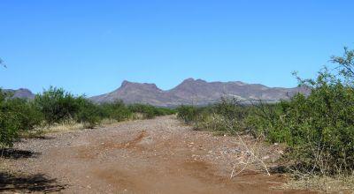 RV in the Arizona Desert
