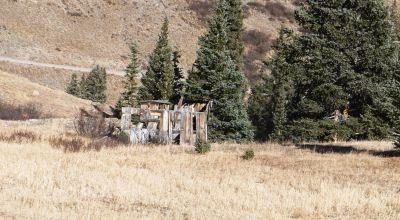 5 acres almost adjacent to Historic Animas Forks Colorado * Animas River