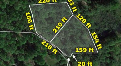 $50K Double Lot Owner Financed Only $36.9K--Build Your Overnight Rental Near Pisgah Natl Forest