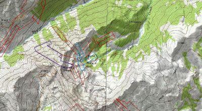 Mt. Tilton & Eyre Basin Gunnison Colorado * 3 patented mining claims